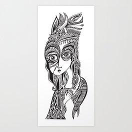 Complicated explantion Art Print