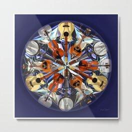 Musical Kaleidoscope  Metal Print