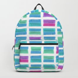 Colored Bubble Gums Pattern Backpack