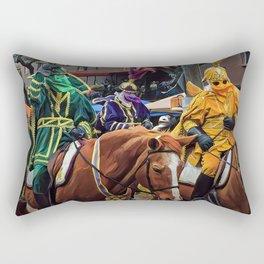 Lieutenants of Rex Rectangular Pillow