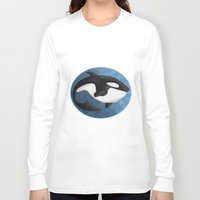 orca Long Sleeve T-shirts featuring Orca by S*TRU
