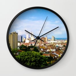 View Cali Valle del Cauca. Wall Clock