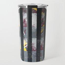 Polarized - dot graphic Travel Mug
