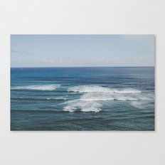 Where the Sky Meets the Sea in Hawaii Canvas Print