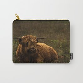 Scottish Highland hairy cow Carry-All Pouch