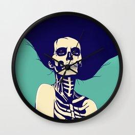 Día de las Muertas Wall Clock