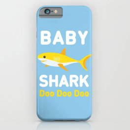 Baby Shark iPhone Case