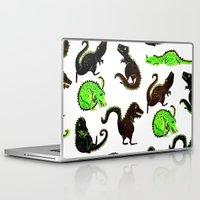 dinosaurs Laptop & iPad Skins featuring dinosaurs by Lara Paulussen