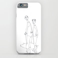 two girls and a dog Slim Case iPhone 6s