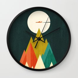 Life is a travel Wall Clock