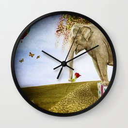 Good Things Don't Always Come in Small Packages Wall Clock