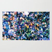 sparkle Area & Throw Rugs featuring Sparkle by Stephen Linhart