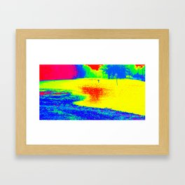 Flood Framed Art Print
