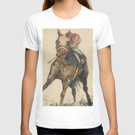 Racehorse Watercolor T-shirt