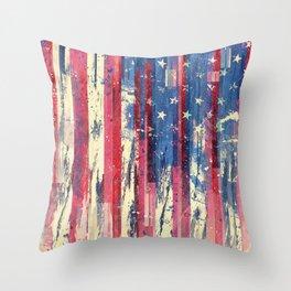 Amerikka Throw Pillow