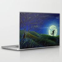 finn Laptop & iPad Skins featuring Huckleberry Finn by Dana Martin