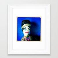 gypsy Framed Art Prints featuring Gypsy by Elena Stonaker