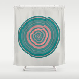 Abstract.01 Shower Curtain