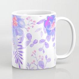 Lilac lavender violet pink watercolor elegant floral Coffee Mug