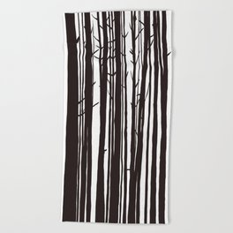 The Trees and The Forest Beach Towel