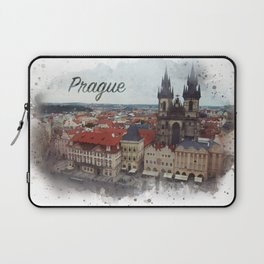 Old Town Square Prague Laptop Sleeve