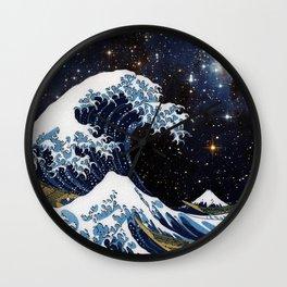 Hokusai & LH95 Wall Clock