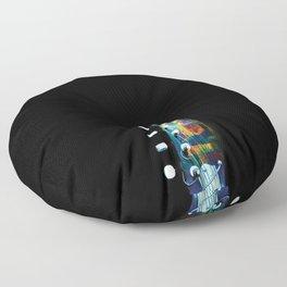 Space Guitar Floor Pillow