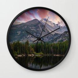 The Colorado Rockies Wall Clock