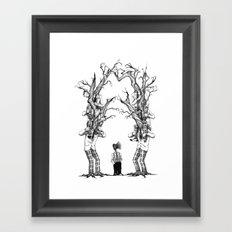 Be Different Framed Art Print