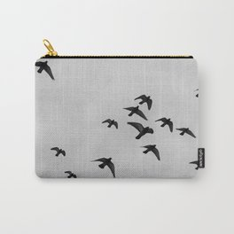 birds flying away Carry-All Pouch