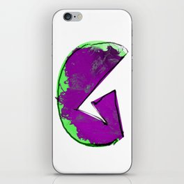 G letter iPhone Skin