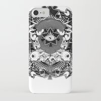 all seeing eye iPhone & iPod Cases featuring All seeing eye by Tshirt-Factory