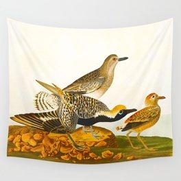 Black-bellied Plover Bird Wall Tapestry