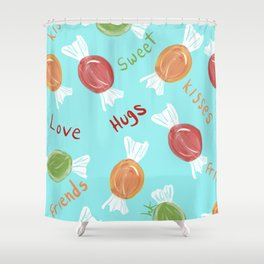 Gimme' Some Candy, Please! Shower Curtain