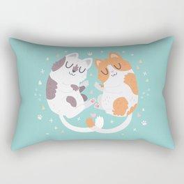 Kitty Cuddles Rectangular Pillow