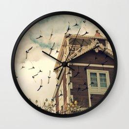 Strange House Wall Clock