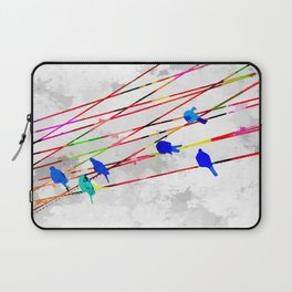 Birds on the Wire Laptop Sleeve