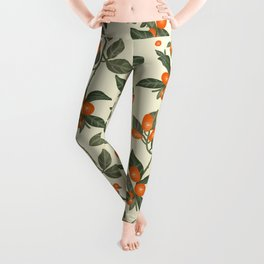 Oranges Pattern Leggings