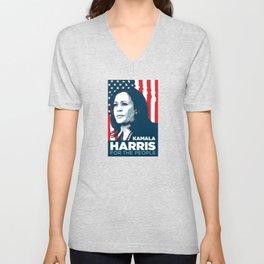 Kamala Harris for the People Unisex V-Neck