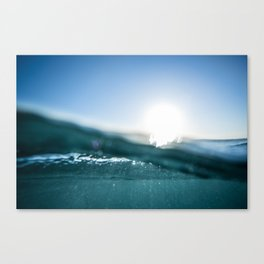 Atlantic Blue Canvas Print