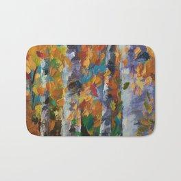 Birch trees - 1 Bath Mat