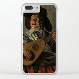 """Judith Leyster """"The Serenade"""" Clear iPhone Case"""