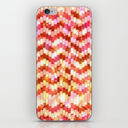 Zigzag Verticals iPhone Skin