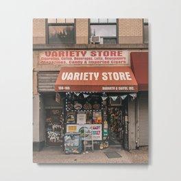 Variety Store, Tribeca Metal Print