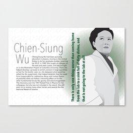 STEM Women 03 - Chien Siung Wu Canvas Print