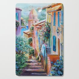 Colors of Collioure, France Cutting Board