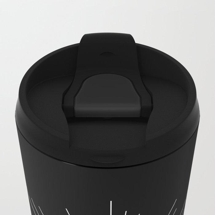 Black Sun Metal Travel Mug