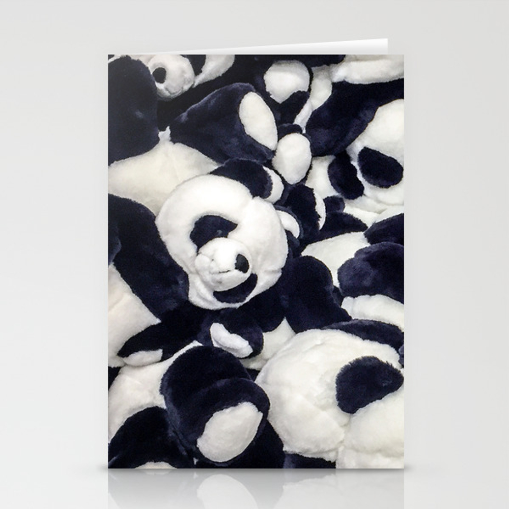 Panda Bears Stationery Cards by Belandpm CRD8081734