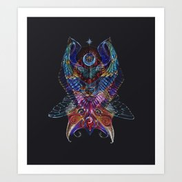 The Totem Entity Art Print