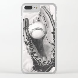 Baseball Clear iPhone Case
